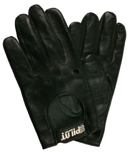 Leather Lambs Skin Chauffeur Mens Driving Gloves Sports Car Gloves Classic Retro